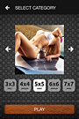 Screen from application Hot Girls Puzzle